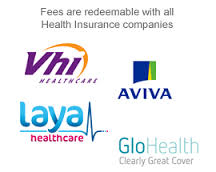 Fees remibursable by VHI Laya Avia & GloHealth_combined graphic with all 4 logos_May 2015